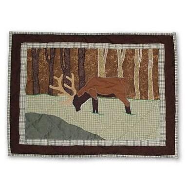 Patch Magic Brown Elk Pillow Sham