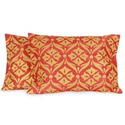 Novica The Seema Embroidered Pillow Cover (Set of 2)