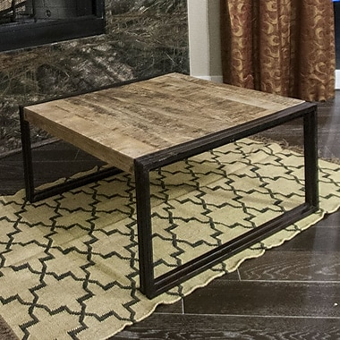 Timbergirl Coffee Table; 18'' H x 35'' W x 35'' D