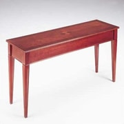 High Point Furniture Marquet Console Table; Mahogany