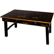 Oriental Furniture Foldable Legs Tea Table