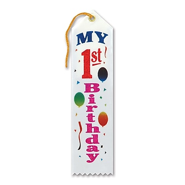 My 1st Birthday Award Ribbon, 2