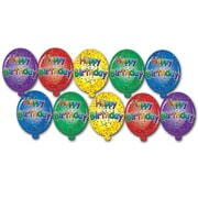 "Mini Happy Birthday Cutouts, 41/2"", 70/Pack"