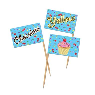 Médiators de petits gâteaux, 2 1/2 po, 300/paquet