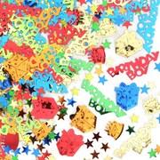 Confettis d'anniversaire, 5/paquet