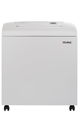 Dahle 40534 High Security Paper Shredder with Automatic Oiler, Security Level P-7, 8 Sheet Capacity