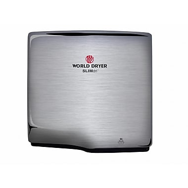 World Dryer® SLIMdri™ 110 - 240 V Surface-Mounted Automatic Hand Dryers