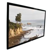 Elite Screens ezFrame Grey Fixed Frame Projection Screen; 106'' diagonal