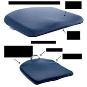 Sacro-Ease Memory Foam Molded Seat; Blue