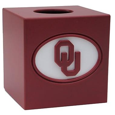 Fan Creations NCAA Tissue Box Cover; Oklahoma