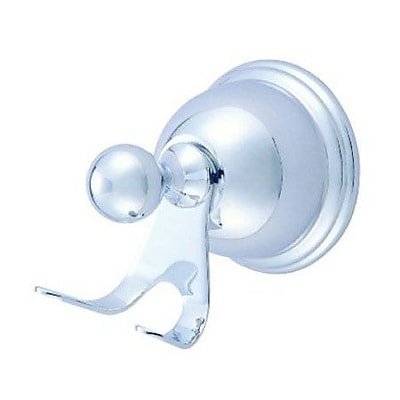 Elements of Design Restoration Wall Mounted Chicago Robe Hook; Polished Chrome