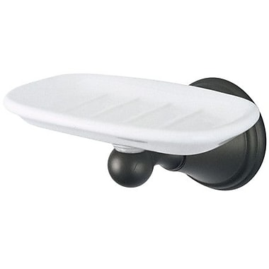 Elements of Design Copenhagen Soap Dish; Oil Rubbed Bronze