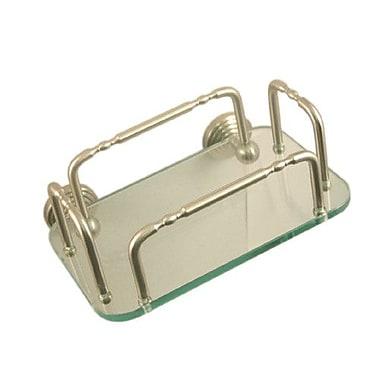 Allied Brass Universal Free Standing Soap Dish; Satin Nickel