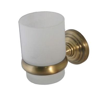 Allied Brass Waverly Place Wall Mount Tumbler Holder; Satin Brass