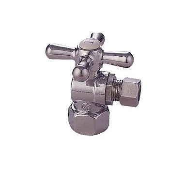 Elements of Design Decorative Quarter Turn Valves; Chrome