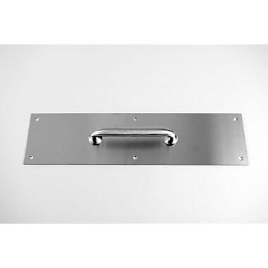 DON-JO MFG INC. Pull Plate; Stainless Steel