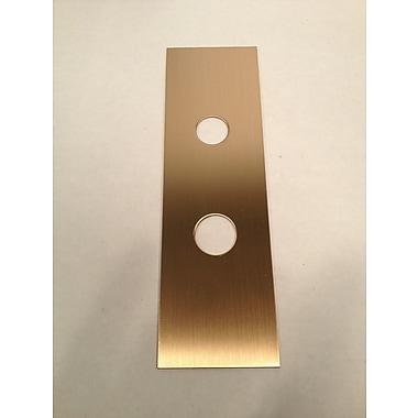 DON-JO MFG INC. Trim Plate; Oil Rubbed Bronze
