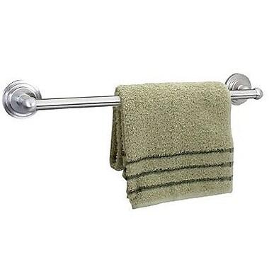 Dynasty Hardware Newport Single 18'' Wall Mounted Towel Bar; Satin Nickel