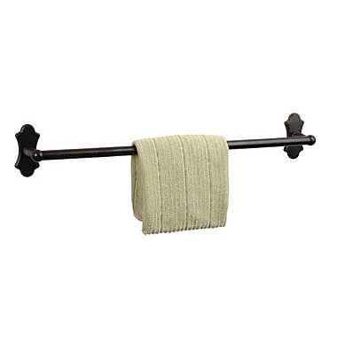 Dynasty Hardware Orleans Single 24'' Wall Mounted Towel Bar; Oil Rubbed Bronze