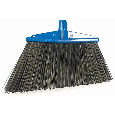 SYR Angle Broom w/ Bristles; Blue