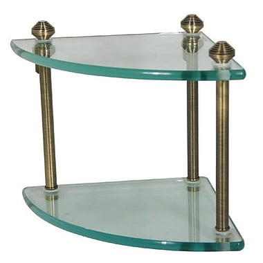 Allied Brass Southbeach Wall Shelf; Antique Bronze