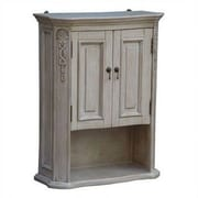 Empire Industries Lido 26.31'' W x 34'' H Wall Mounted Cabinet; Pearl White