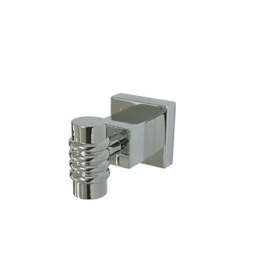 Elements of Design Fortress Wall Mounted Robe Hook; Polished Chrome