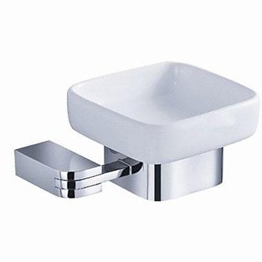 Fresca Solido Soap Dish; Chrome
