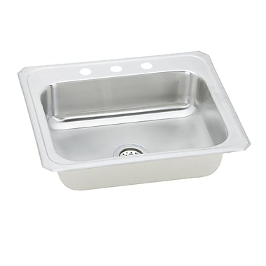 Elkay Celebrity 31'' x 22'' Self-Rimming Kitchen Sink; 4 Holes
