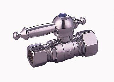 Elements of Design Single hole Bathroom Faucet; Polished Chrome