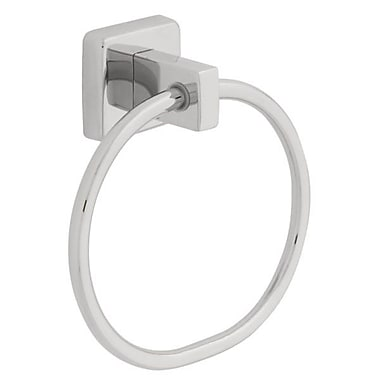Franklin Brass Century Wall Mounted Towel Ring; Stainless Steel