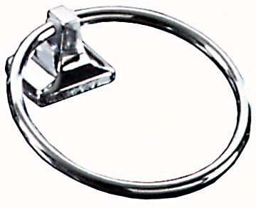 Franklin Brass Futura Wall Mounted Towel Ring; Polished Chrome