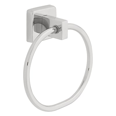 Franklin Brass Century Wall Mounted Towel Ring; Bright Stainless Steel