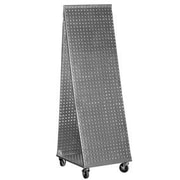 Alligator Board ''A'' Frame Pegboard WOW Tool Cart w/ Wheels