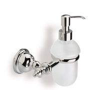 Stilhaus by Nameeks Elite Classic Wall Mount Glass Soap Dispenser