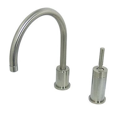 Elements of Design Widespread Kitchen Faucet w/ Metal Lever Handle; Oil Rubbed Bronze