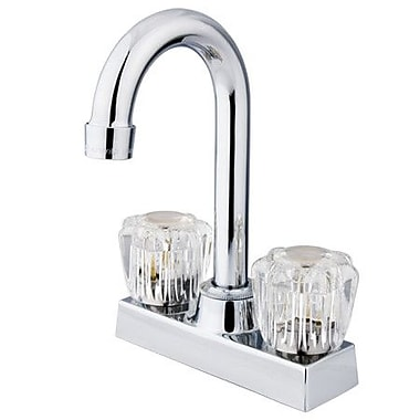 Elements of Design Hot & Cold Water Dispenser; Polished Chrome