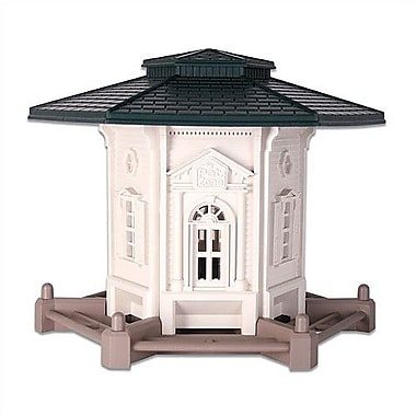 Our Pets Pet Zone Colonial Gazebo Decorative Bird Feeder