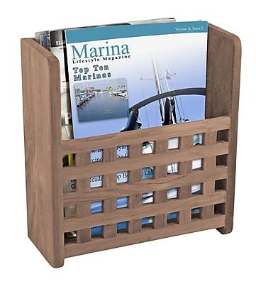 SeaTeak Magazine Rack