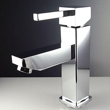 Fresca Versa Single Hole Mount Bathroom Faucet w/ Single Handle; Chrome
