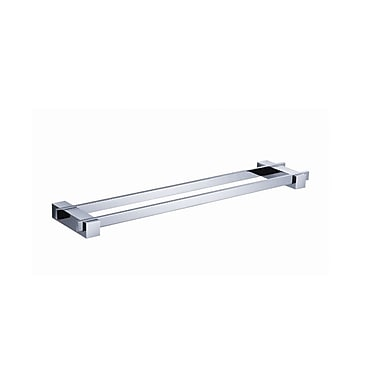 Fresca Ellite Double Wall Mounted Towel Bar; Chrome