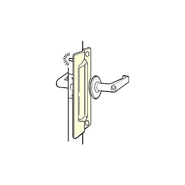 DON-JO MFG INC. Latch Protector; Chrome Plated