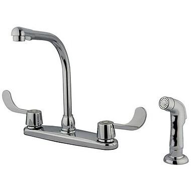 Kingston Brass Magellan Kitchen Faucet w/ Blade Handles
