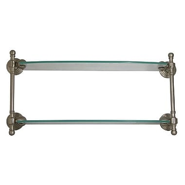 Allied Brass Retro Wave Wall Shelf; Oil Rubbed Bronze