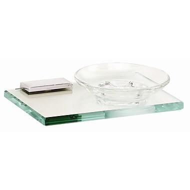 Alno Arch Soap Dish; Polished Chrome