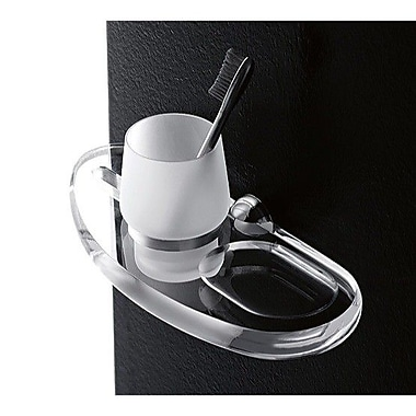 Toscanaluce by Nameeks Orchidea Wall Mount Tumbler and Tumbler Holder