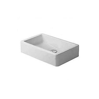 Duravit Vero 7'' Wall Mounted Bathroom Sink w/ Overflow