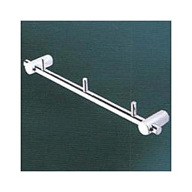 Empire Industries Tempo Wall Mounted Triple Hook; Satin