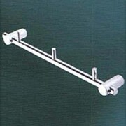 Empire Industries Tempo Wall Mounted Hook Rack; Satin