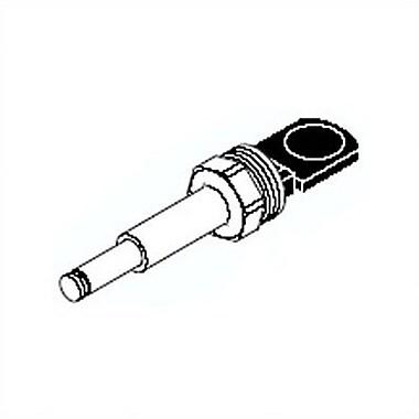 Delta Push Button Diverter Valve for Single Handle Tub Faucets; Chrome